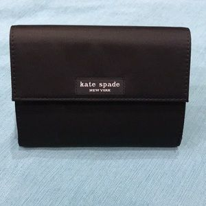 kate spade Black Wallet with snap closure